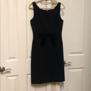 Navy and black Kate Spade work dress